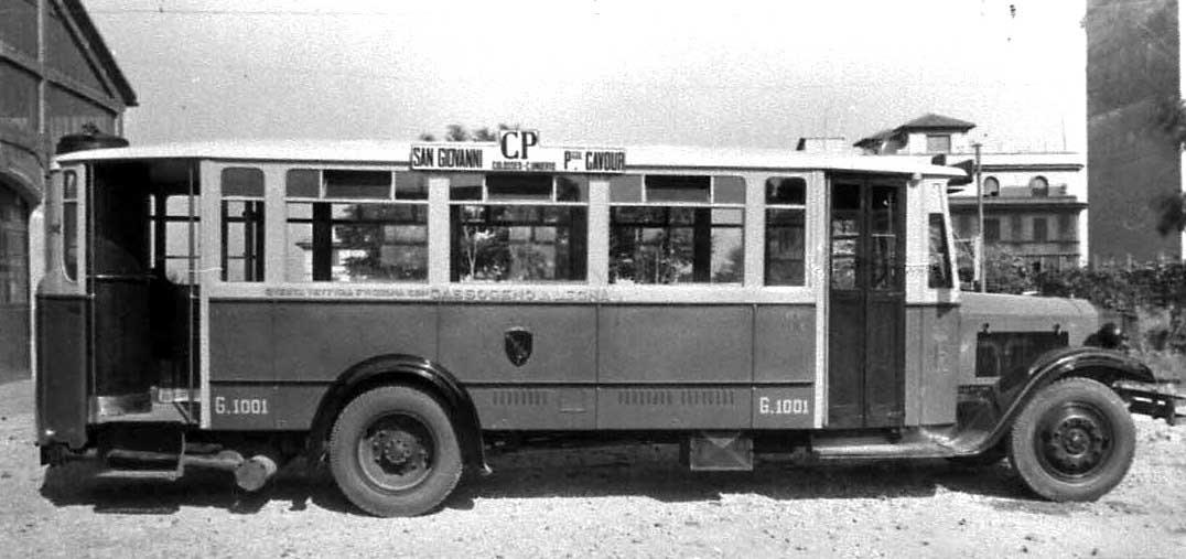 Dal 1935 alla seconda guerra mondiale - Autobus prima porta ...