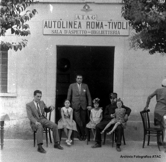 L\'autolinea Roma-Tivoli in gestione ATAG e ATAC