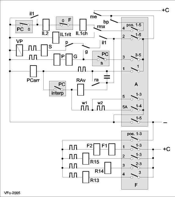 Schema Elettrico Teleruttore : Equipaggiamento elettrico cge con avviatore pcm